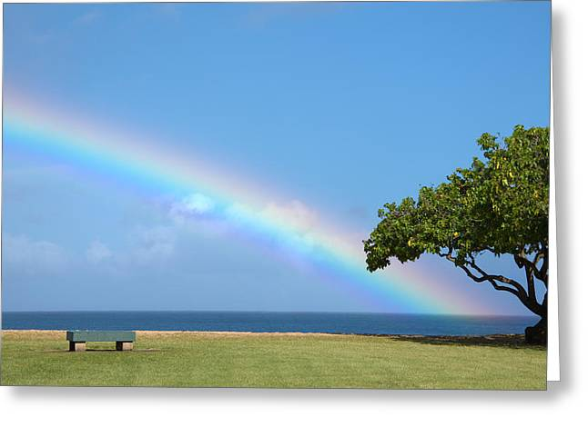 Waimea Valley Greeting Cards - I Want To Be There Greeting Card by Brian Harig