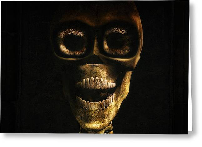 Macabre Digital Art Greeting Cards - I want to be your friend Greeting Card by Ramon Martinez