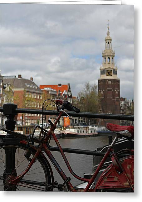 I Want To Ride My Bicycle  Greeting Card by Juergen Roth