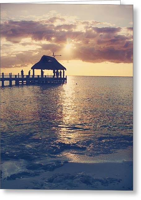 Cozumel Greeting Cards - I Will Feel Eternity Greeting Card by Laurie Search