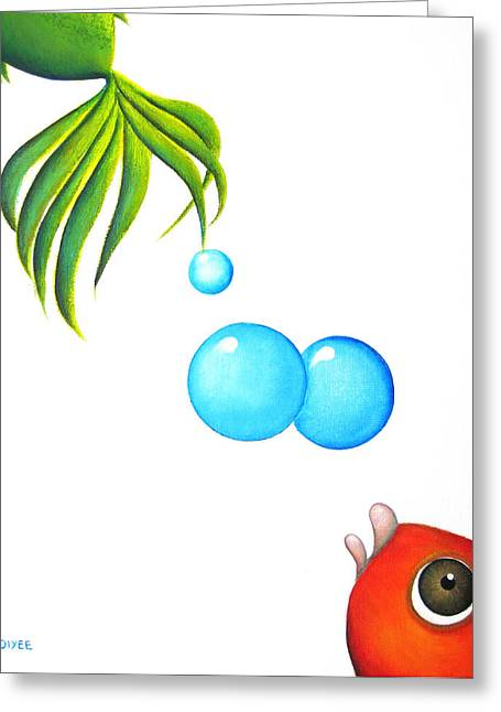 Betta Greeting Cards - I Will Follow You Greeting Card by Oiyee  At Oystudio