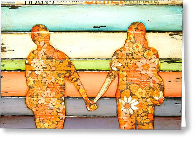 Anniversary Mixed Media Greeting Cards - I Will Never Let Go Greeting Card by Danny Phillips