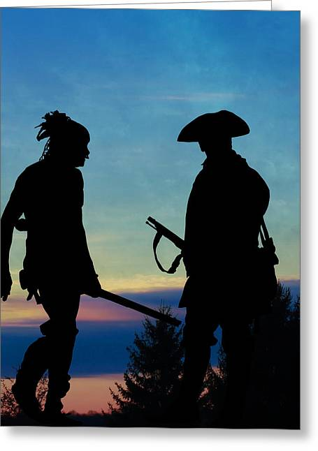 Fineartamerica Greeting Cards - I Will Show you the Way Greeting Card by Randy Steele