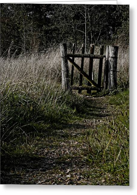 Overgrown Greeting Cards - I Will Wait For You Greeting Card by Odd Jeppesen