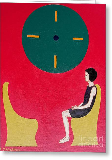 Separation Paintings Greeting Cards - I Will Wait Forever Greeting Card by Patrick J Murphy