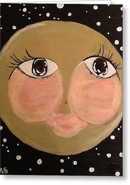 Twinkle Paintings Greeting Cards - I wish Greeting Card by Suzi Gould