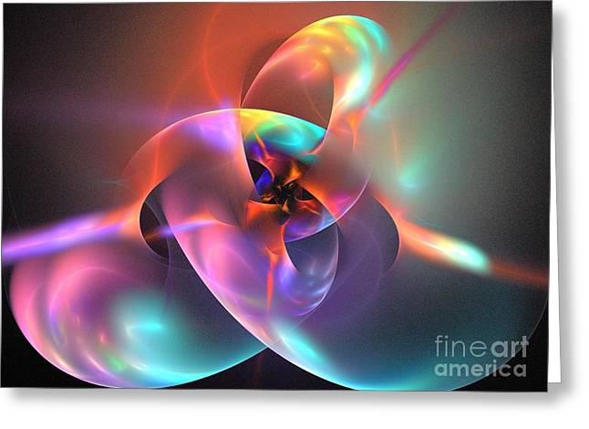 Office Space Digital Art Greeting Cards - Iapetus Greeting Card by Kim Sy Ok