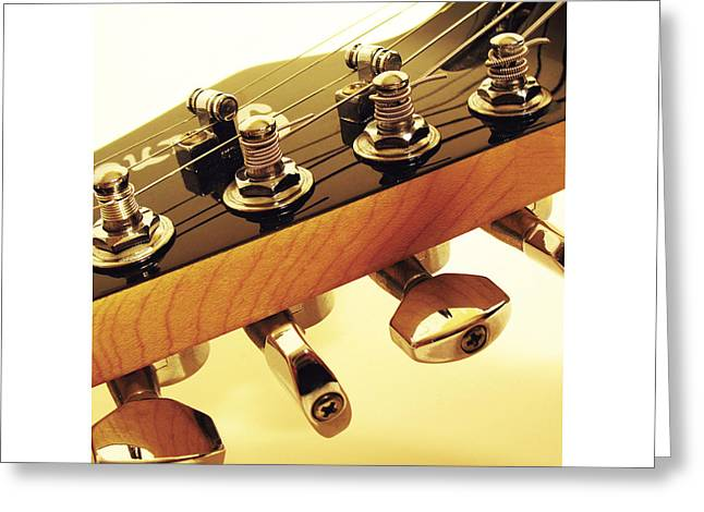 Mahogany Red Greeting Cards - Ibanez JK 2 Greeting Card by Gideon Schutte