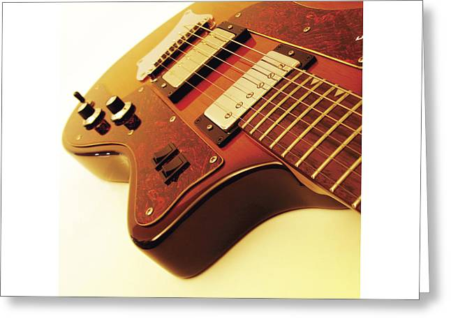 Mahogany Red Greeting Cards - Ibanez JK 4 Greeting Card by Gideon Schutte