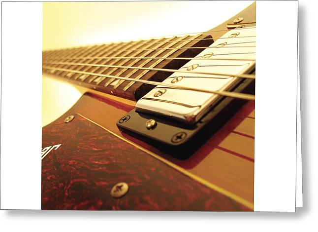 Mahogany Red Greeting Cards - Ibanez JK 6 Greeting Card by Gideon Schutte