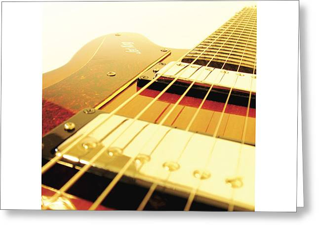 Mahogany Red Greeting Cards - Ibanez JK 7 Greeting Card by Gideon Schutte