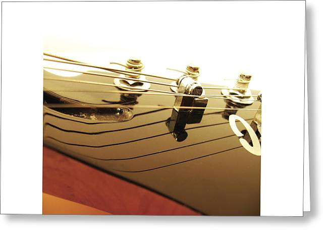 Mahogany Red Greeting Cards - Ibanez JK 9 Greeting Card by Gideon Schutte