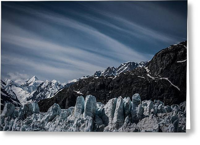 Dayne Greeting Cards - Ice And Sky With My Little Eye Greeting Card by Dayne Reast