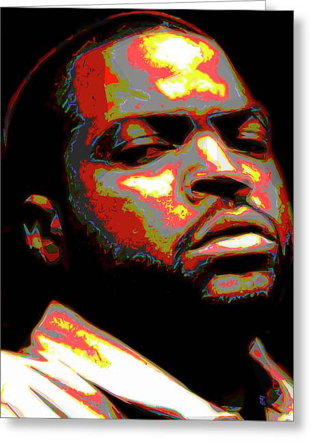 Screenwriter Greeting Cards - Ice Cube Greeting Card by  Fli Art