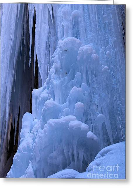 128 Greeting Cards - Ice Flows Greeting Card by Adam Jewell