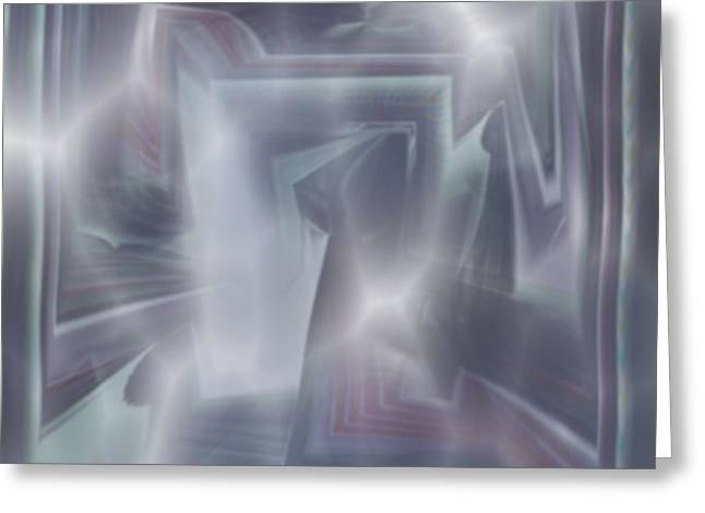 Ice Greeting Card by Klaas Hartz