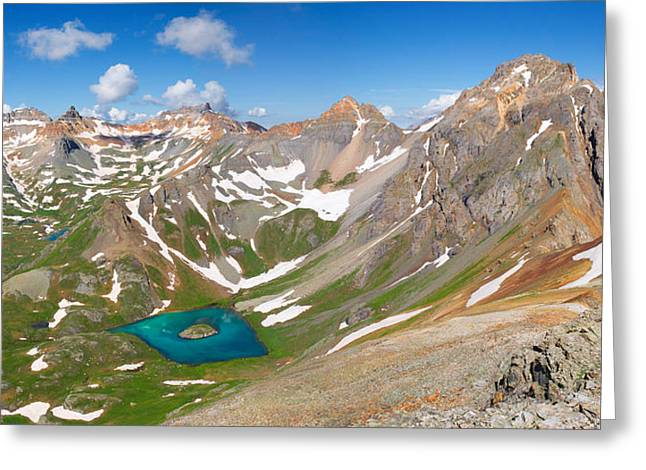 Lush Green Greeting Cards - Ice Lakes Basin - Colorado  Greeting Card by Aaron Spong
