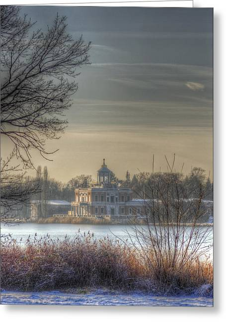 Quite Greeting Cards - Ice palace Greeting Card by Nathan Wright