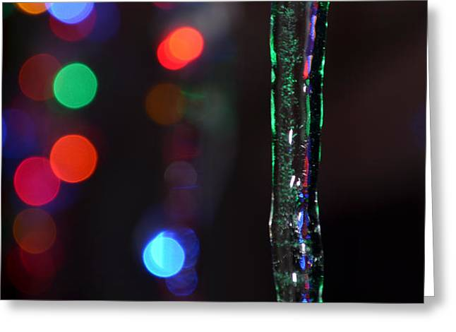 Ice Storm Christmas  Greeting Card by Ken DErrico