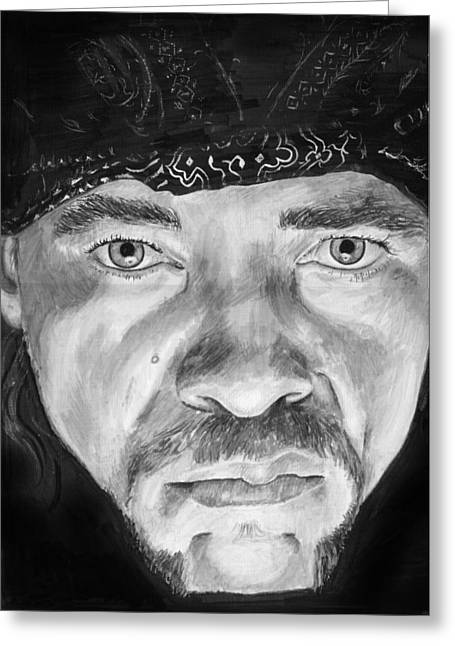 Ice-t Greeting Cards - Ice T Greeting Card by Charles  Bickel