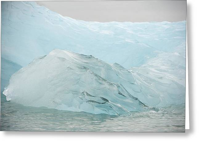 Norwegian Coast Greeting Cards - Iceberg, Norway Greeting Card by Science Photo Library
