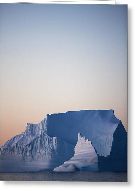 Toby Greeting Cards - Iceberg Of West Coast Greenland Greeting Card by Toby Adamson