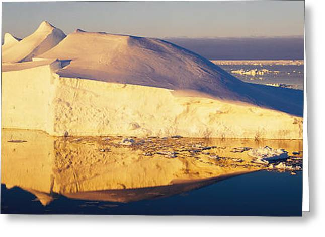 Afloat Greeting Cards - Iceberg, Ross Sea, Antarctica Greeting Card by Panoramic Images