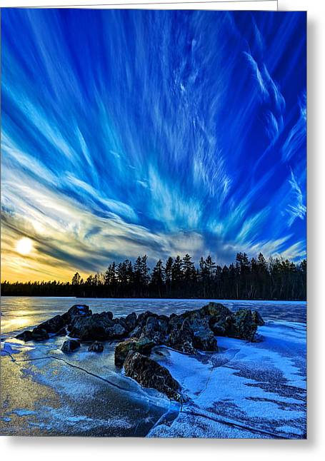 New England Snow Scene Greeting Cards - Icebound 3 Greeting Card by Bill Caldwell -        ABeautifulSky Photography
