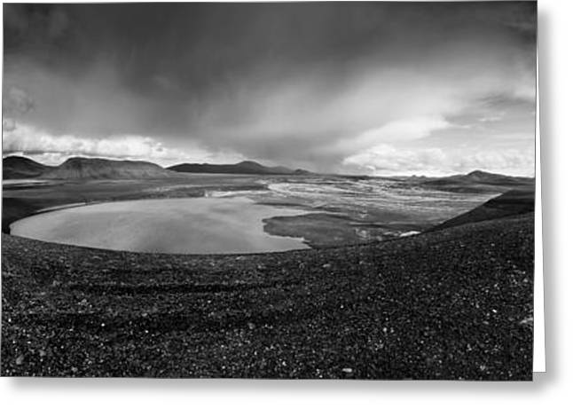 Iceland Greeting Cards - Iceland Landmannalaugar Greeting Card by Nina Papiorek
