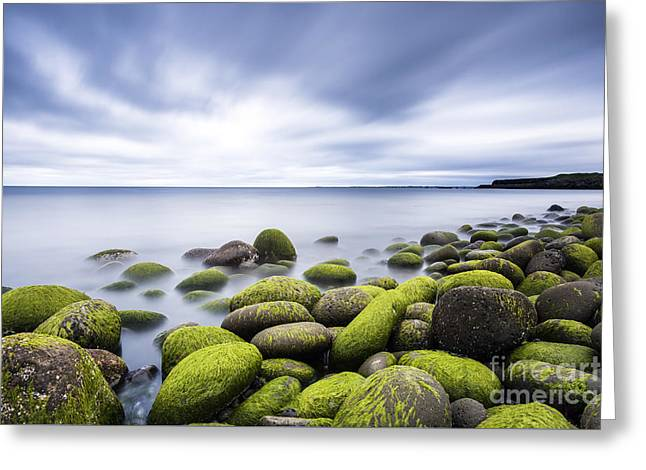 Best Sellers -  - Best Ocean Photography Greeting Cards - Iceland Tranquility 3 Greeting Card by Gunnar Orn Arnason