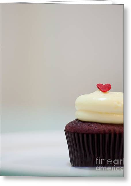 Cupcake Photography Greeting Cards - Icing on the cake I Greeting Card by Ivy Ho
