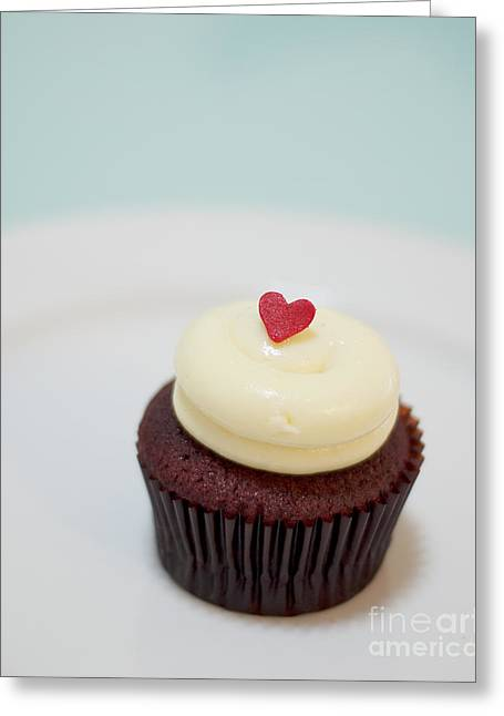 Cupcake Photography Greeting Cards - Icing on the cake II Greeting Card by Ivy Ho