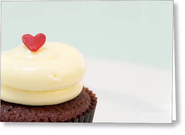 Cupcake Photography Greeting Cards - Icing on the Cake III Greeting Card by Ivy Ho
