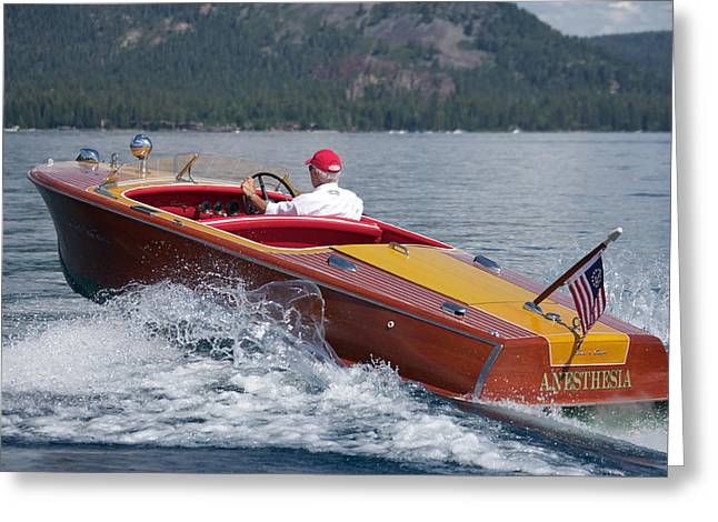 Chris Craft Custom Greeting Cards - Iconic Chris Craft Greeting Card by Steven Lapkin