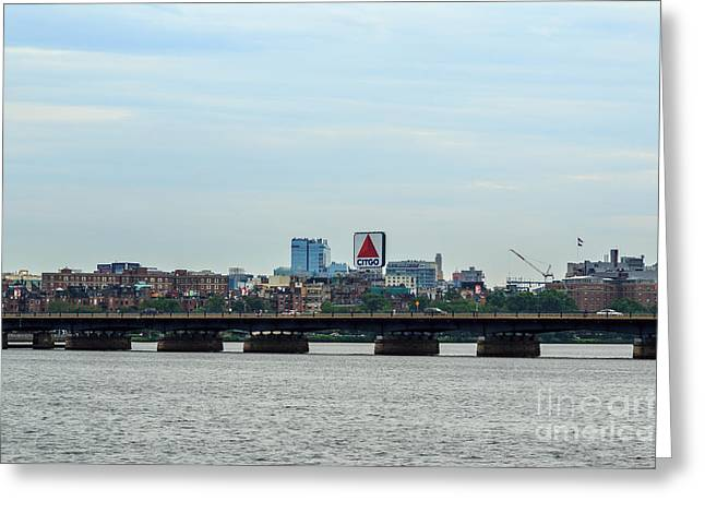 Boston Ma Greeting Cards - Iconic Citgo Sign Greeting Card by Stephen Allen