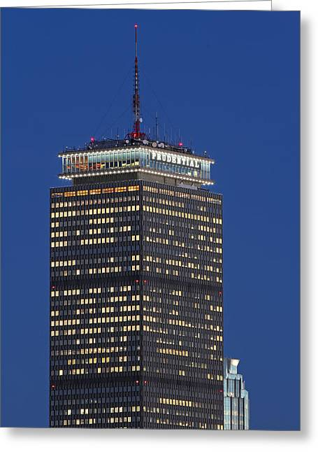 Charles River Greeting Cards - Iconic Facade Greeting Card by Juergen Roth
