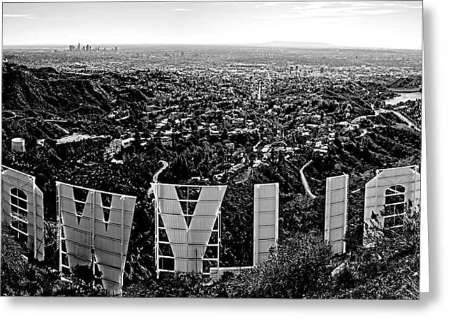 Best Sellers -  - Ocean Panorama Greeting Cards - Iconic Hollywood  Greeting Card by Art K