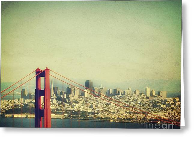 Sight Seeing San Francisco Greeting Cards - Iconic Greeting Card by Jennifer Ramirez