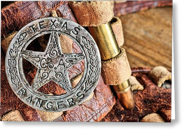 Law Enforcement Greeting Cards - Iconic Texas Greeting Card by JC Findley