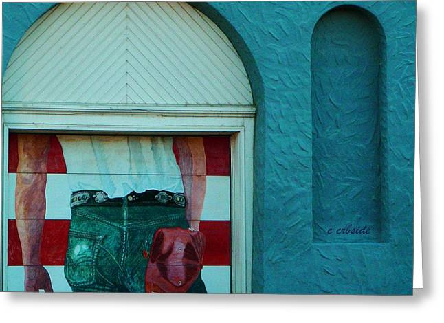 Urban Images Greeting Cards - Iconic Urban Mural Greeting Card by Chris Berry