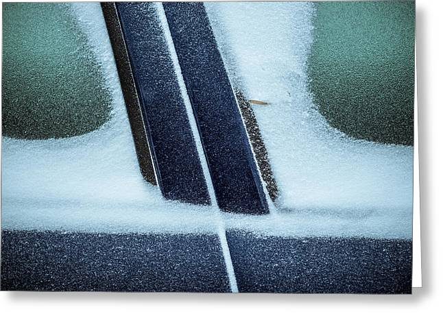 Winter Greeting Cards - Icy Rain Greeting Card by Mihai Ilie