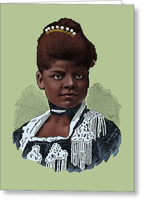 Ida Bell Wells, American Journalist Greeting Card by Science Source