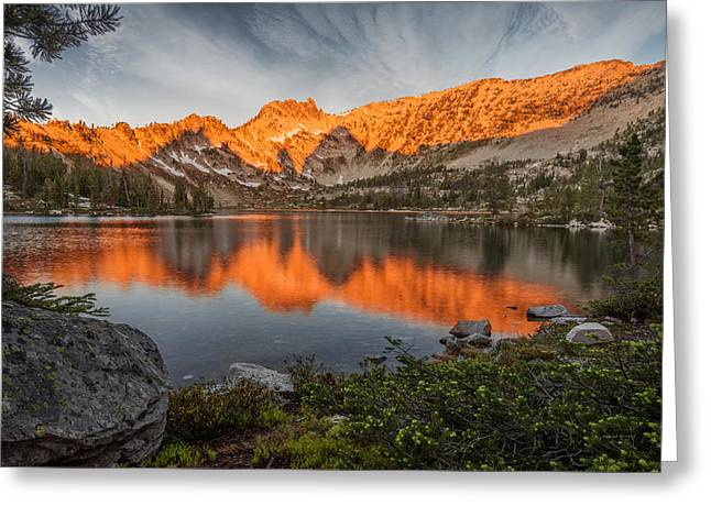 Frank Church River Of No Return Greeting Cards - Idaho Wilderness Greeting Card by Leland D Howard