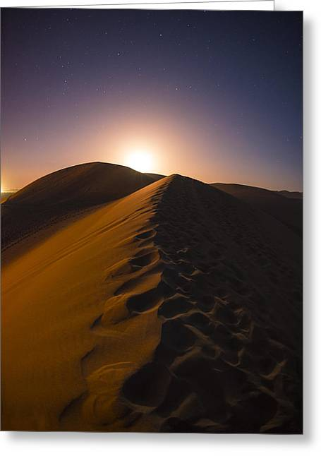 Dunes Greeting Cards - iDunes Greeting Card by Aaron S Bedell