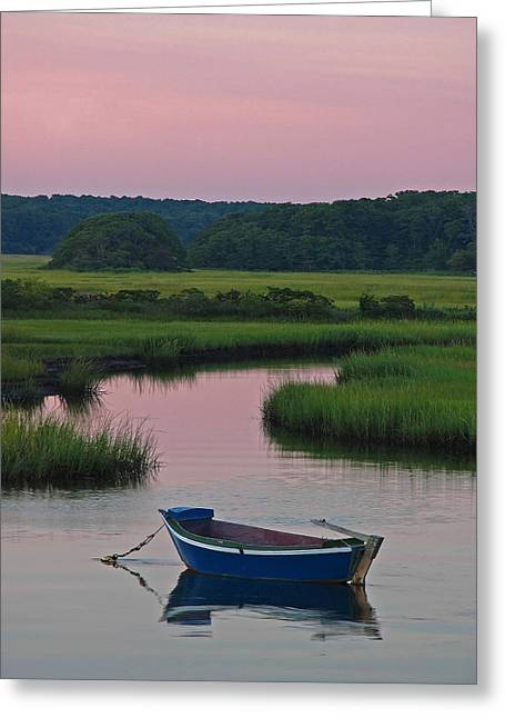 Dingy Greeting Cards - Idyllic Cape Cod Greeting Card by Juergen Roth