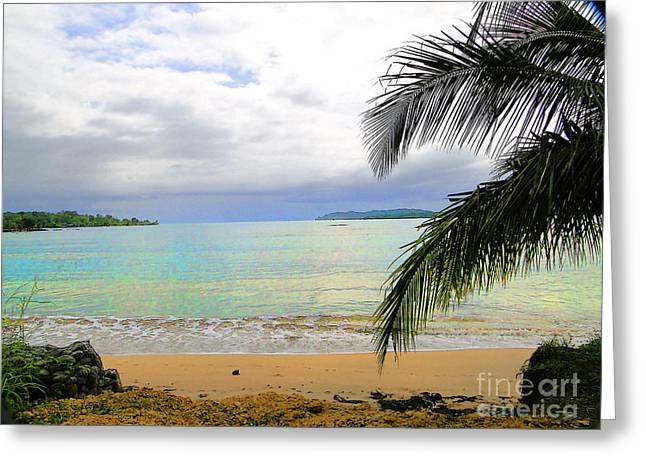 Al Central Greeting Cards - Idyllic Paradise in Bocas Del Toro - Panama Greeting Card by Al Bourassa