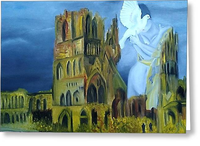 Ypres Greeting Cards - Ieper Greeting Card by Dirk Ghys