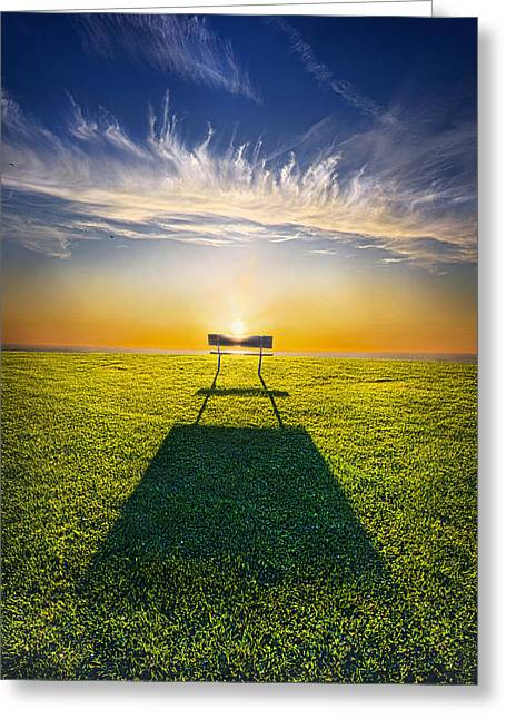 Sunrise Greeting Cards - If I Only Had Greeting Card by Phil Koch