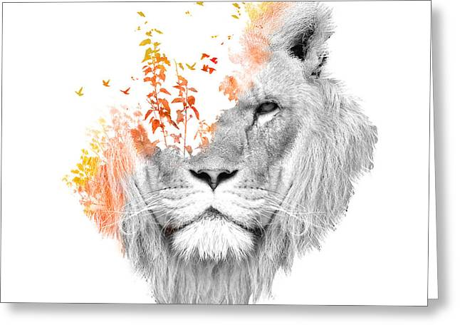 Exposure Greeting Cards - If I roar Greeting Card by Budi Kwan