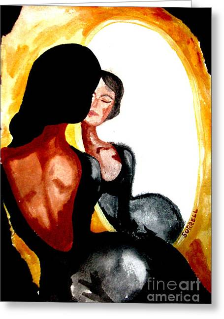 Senorita Greeting Cards - If Only Greeting Card by Amy Sorrell